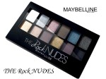 Maybelline The Rock Nudes Eye Shadow Palette Review, Swatches
