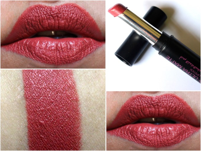 Mikyajy Ultra Matte Lipstick Shade 905 Review, Swatches On Lips