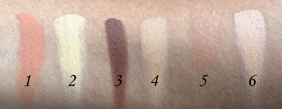 NYX Conceal, Correct, Contour 3C Palette Review, Swatches Hand