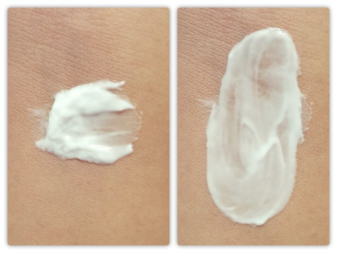 The Face Shop White Seed Blanclouding White Moisture Cream Review Swatches
