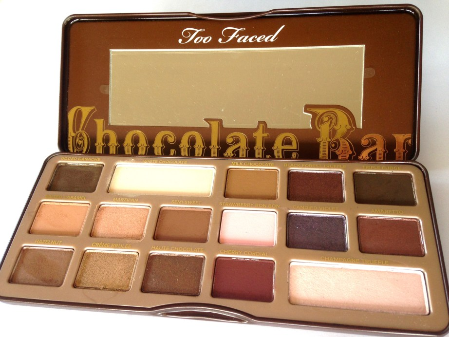 Too Faced Chocolate Bar Eyeshadow Palette Review, Swatches MBF