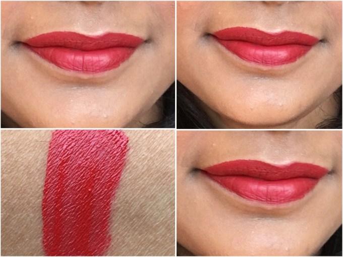 theBalm Meet Matte Hughes Long Lasting Liquid Lipstick Loyal Review, Swatches On Lips