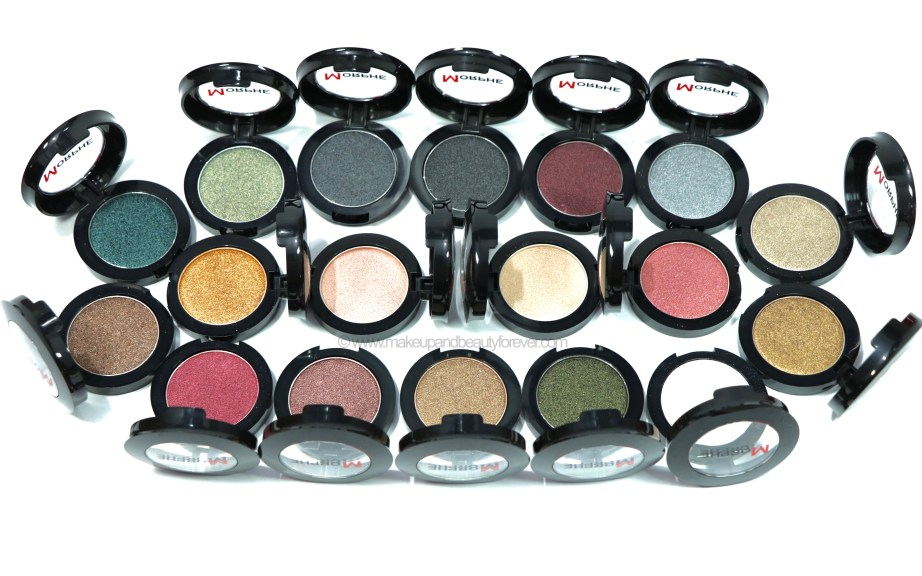 All Morphe Pressed Pigments 30 Shades Review, Swatches MBF Blog