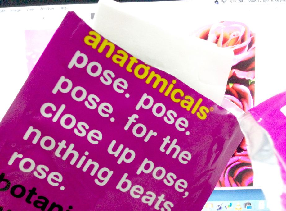 Anatomicals Botanical Hydrating Rose Face Mask Cloth Review Open
