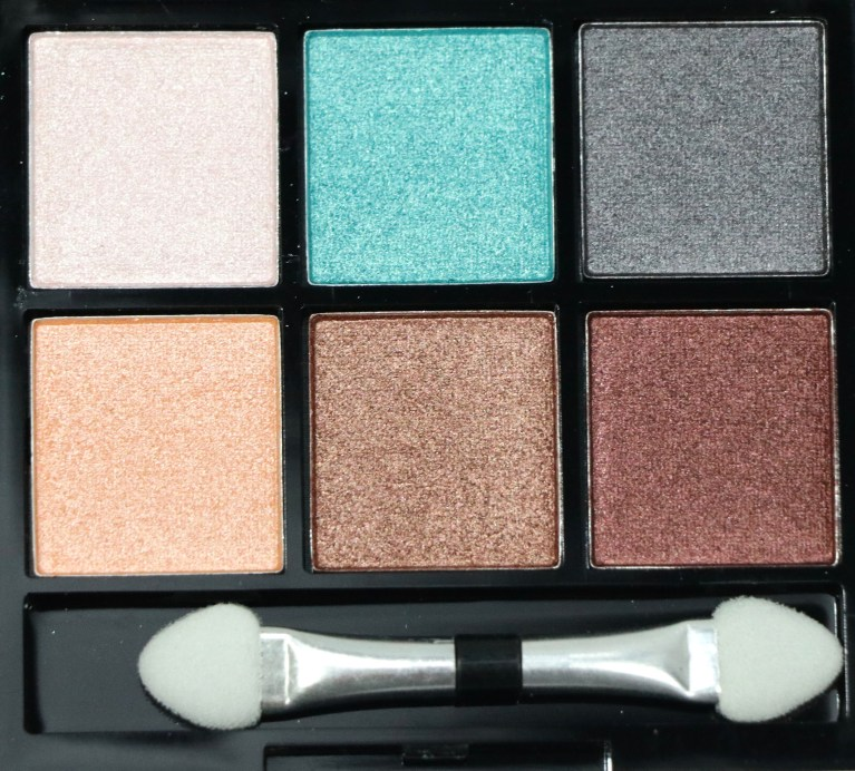 BH Cosmetics Foil Eyes To Go Eyeshadow Palette Review, Swatches Closeup
