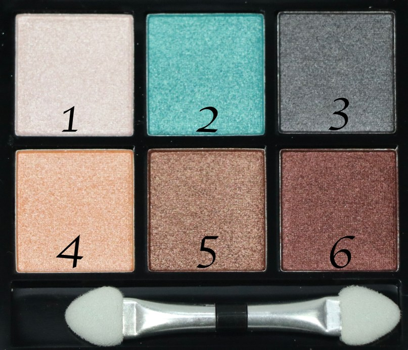 BH Cosmetics Foil Eyes To Go Eyeshadow Palette Review, Swatches Focus