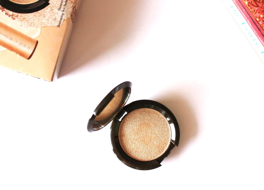 Becca Opal Shimmering Skin Perfector Pressed Highlighter Review, Swatches