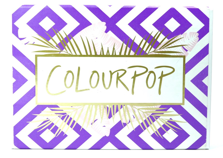 ColourPop Staycation Matte Lippie Stix Kit Review, Swatches Packaging front