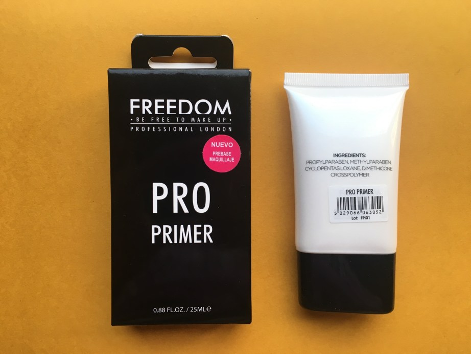Freedom Pro Makeup Primer Review, Swatches MBF Blog