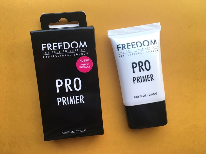 Freedom Pro Makeup Primer Review, Swatches MBF