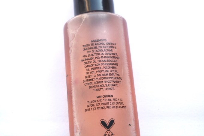 Gerard Cosmetics Slay All Day Makeup Setting Spray Review Ingredients