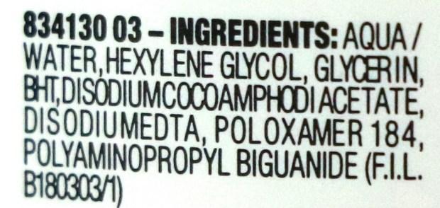 Maybelline Micellar Water Review, Demo Ingredients