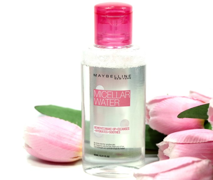 Maybelline Micellar Water Review, Demo