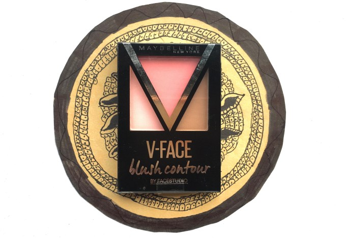 Maybelline V Face Blush Contour Pink Review, Swatches MBF