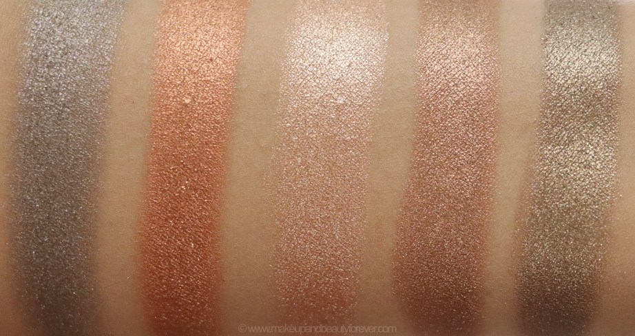 Morphe Pressed Pigments Swatches Celebrity Affair, Kill the Lights, So Chic & Polish, On the Rock, Dress to Impress