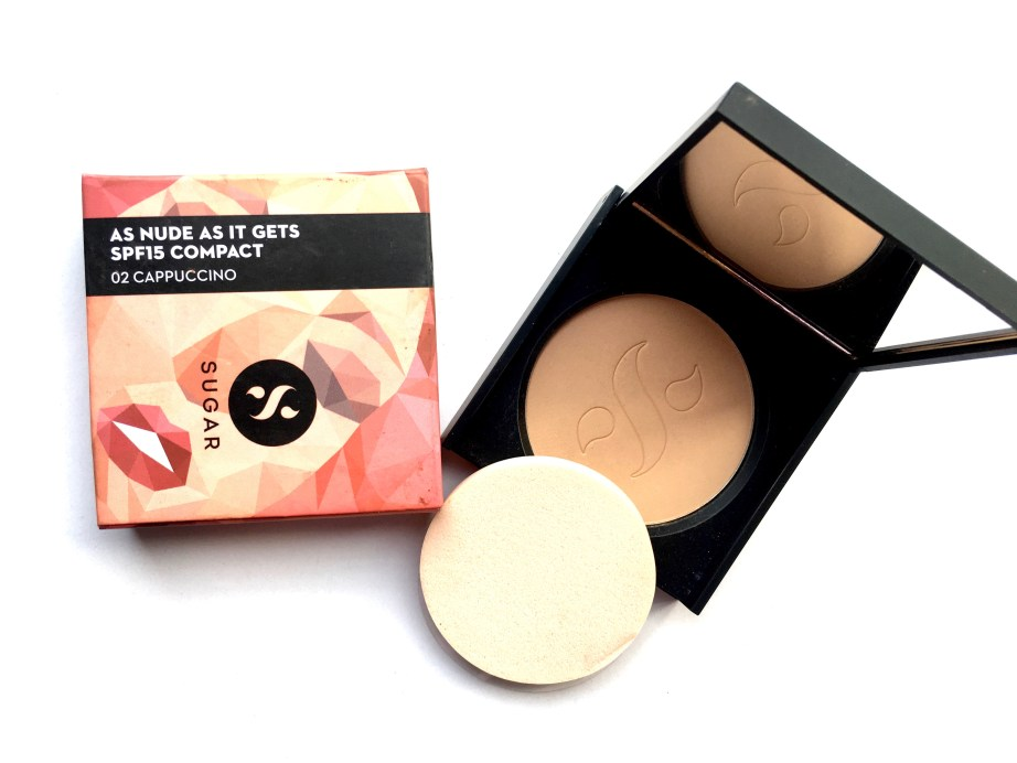 Sugar As Nude As It Gets SPF 15 Compact Review, Swatches MBF Blog
