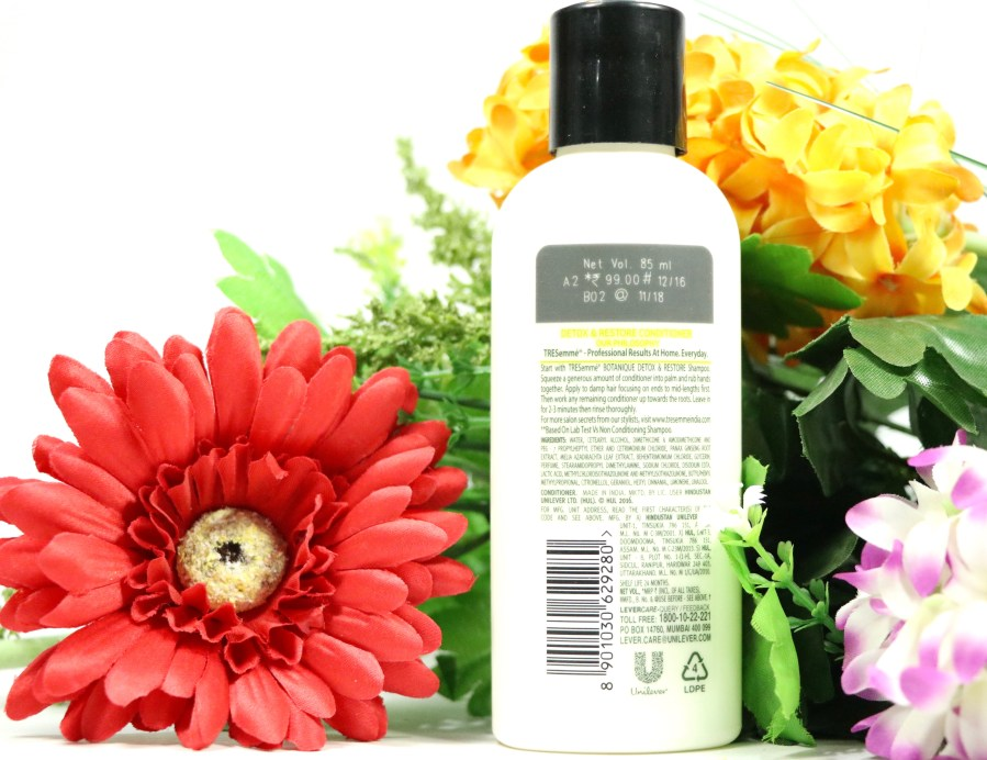 TRESemmé Botanique Detox & Restore Conditioner Review details