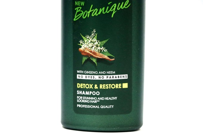TRESemmé Botanique Detox & Restore Shampoo Review Info
