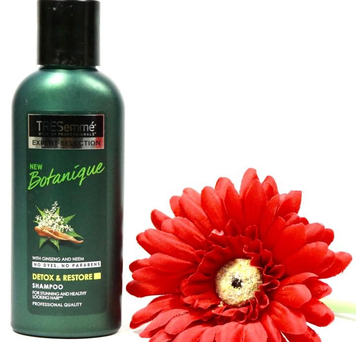 TRESemmé Botanique Detox & Restore Shampoo Review MBF