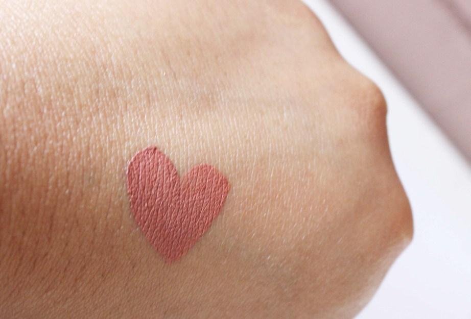 Tarte Birthday Suit Tarteist Creamy Matte Lip Paint Review, Swatches Skin