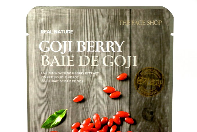 The Face Shop Real Nature Goji Berry Face Mask Review MBF