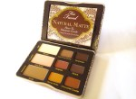 Too Faced Natural Matte Eyeshadow Palette Review, Swatches