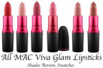 All MAC Viva Glam Lipsticks Shades Review, Swatches