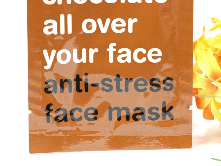 Anatomicals Look You've Got Chocolate Face Anti-Stress Face Mask Review