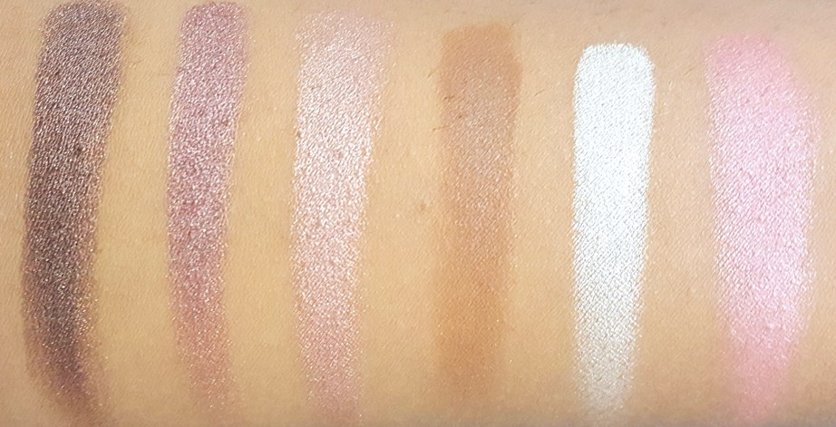 BH Cosmetics Illuminate Ashley Tisdale Night Goddess Palette Review, Swatches 2