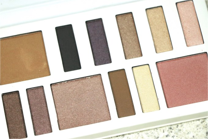 BH Cosmetics Illuminate Ashley Tisdale Night Goddess Palette Review, Swatches closeup