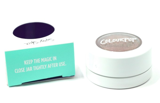 ColourPop DGAF Super Shock Shadow Review, Swatches instructions