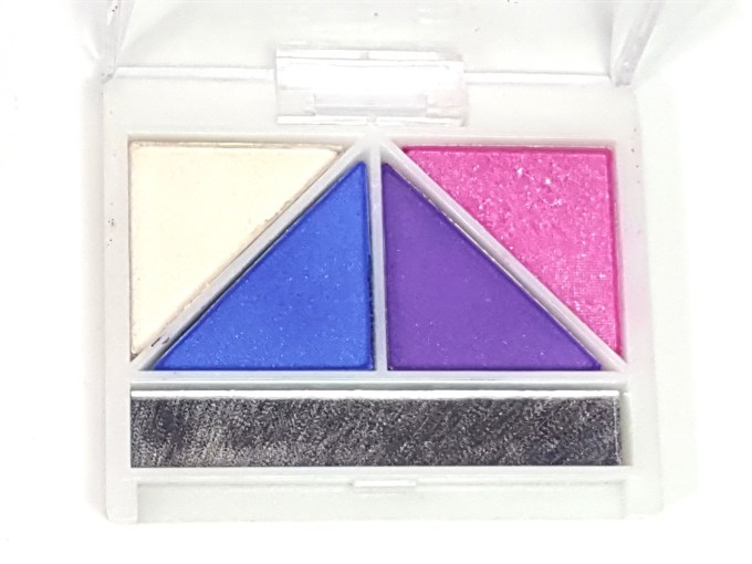 ELF Punk Funk Brightening Eye Shadow Quad Review, Swatches focus