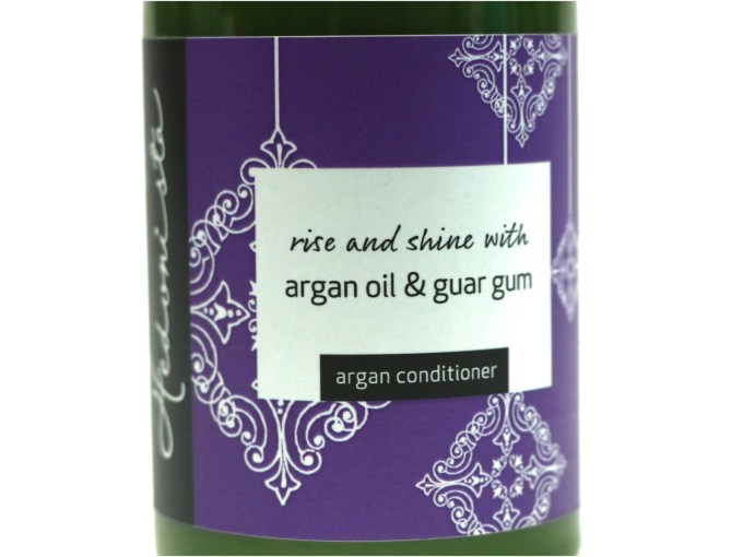 Hedonista Argan Conditioner Review front design