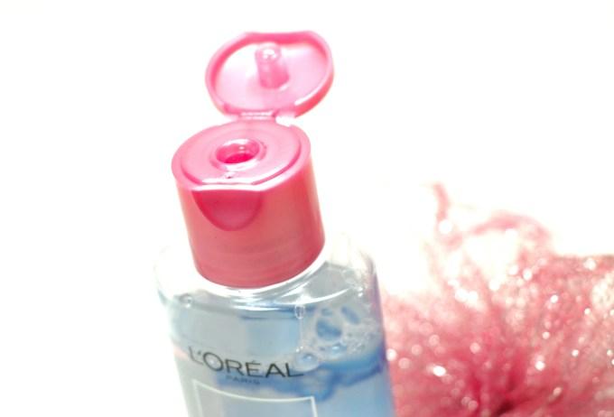 L'Oreal Paris Micellar Water 3 in 1 Review, Demo flip Top