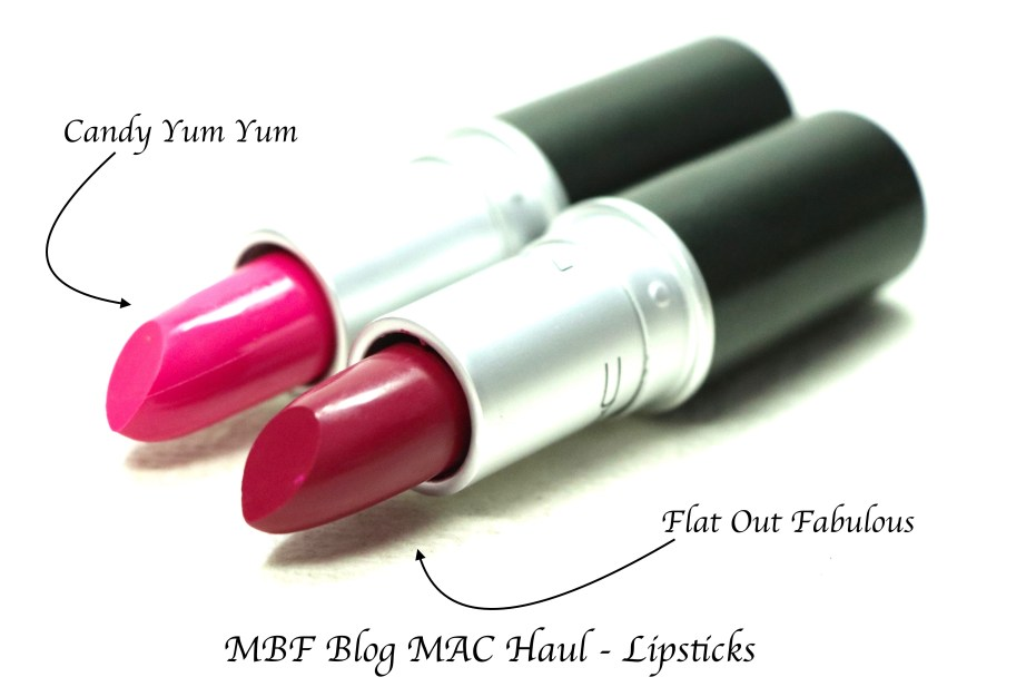MAC Candy Yum Yum MAC Flat Out Fabulous