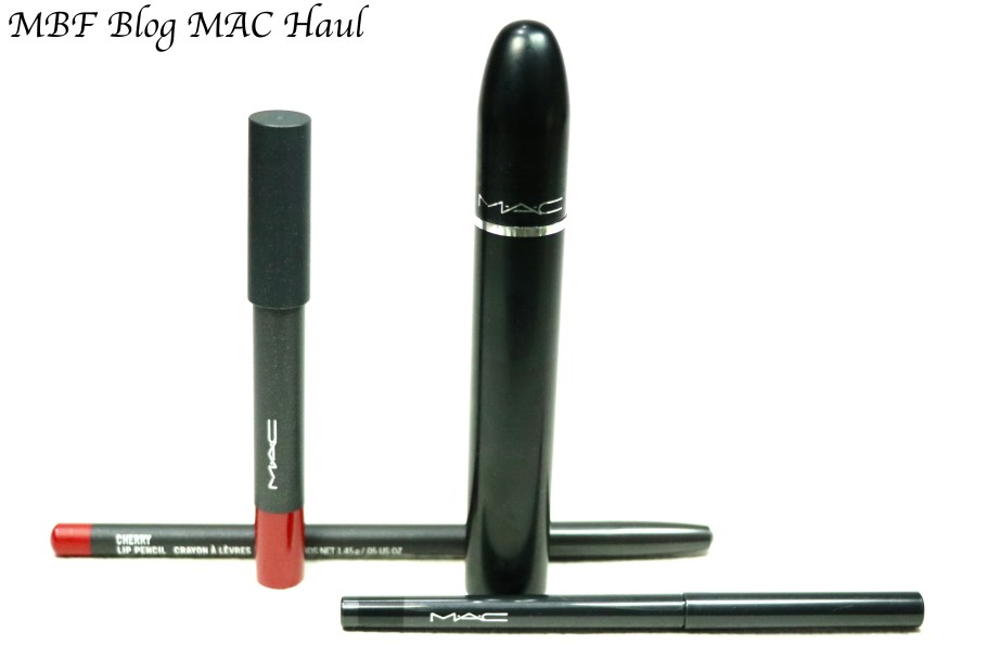 MAC Cherry Lip Liner Pencil MAC Velvetease Lip Pencil (Crayon) MAC Modern Twist Kajal Liner MAC Upward Lash Volume Mascara