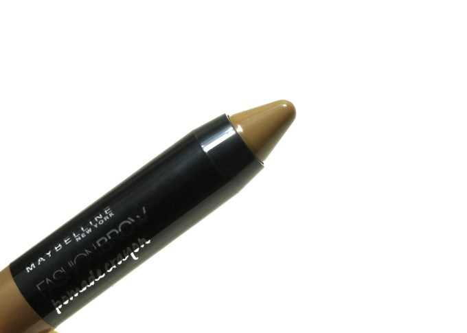 Maybelline Fashion Brow Pomade Crayon Review, Swatches Focus