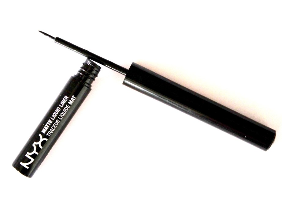 NYX Matte Liquid Liner Review, Swatches