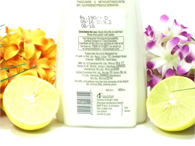 Nyle Naturals Anti Dandruff Shampoo Review closeup