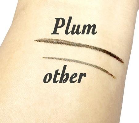 Plum Natur Studio All Day Wear Kohl Kajal Review, Swatches skin