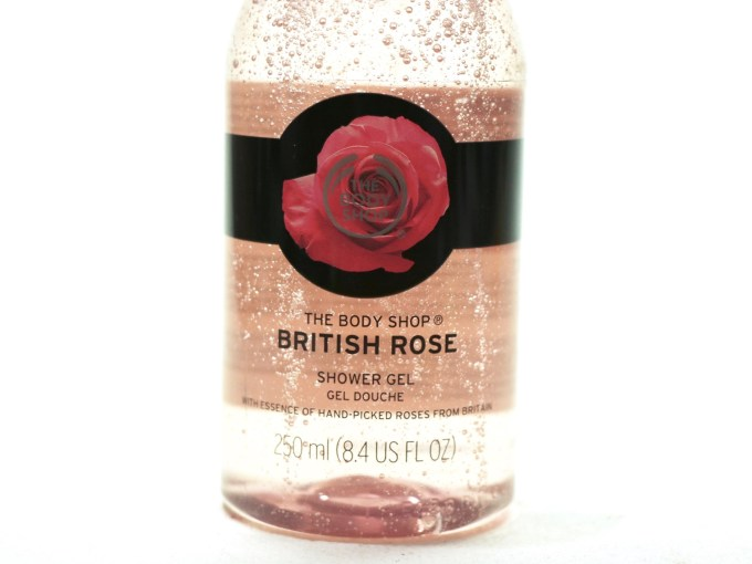 The Body Shop British Rose Shower Gel Review front