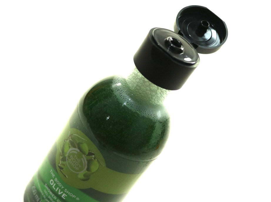 The Body Shop Olive Shower Gel Review New Packaging