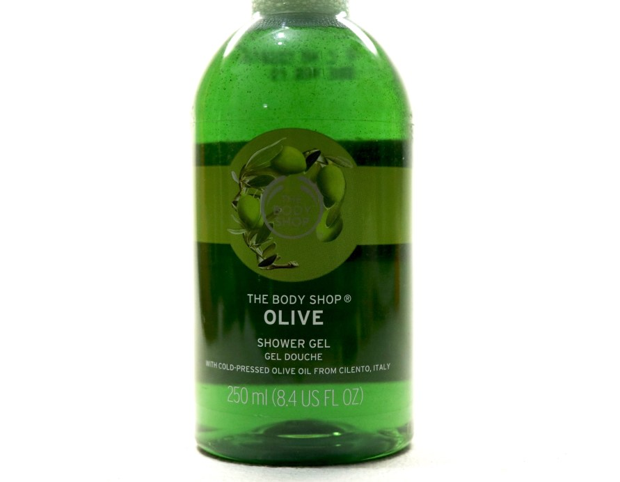 The Body Shop Olive Shower Gel Review front
