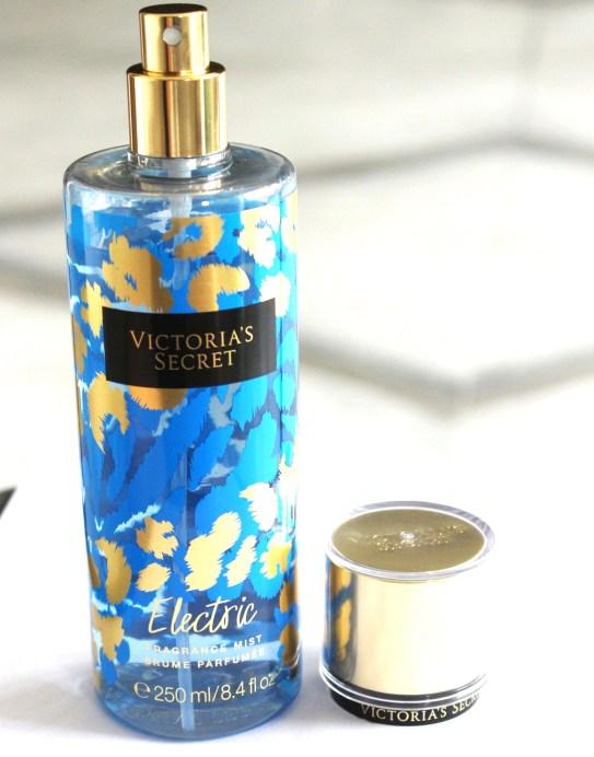 Victoria's Secret Electric Fragrance Mist Review Top
