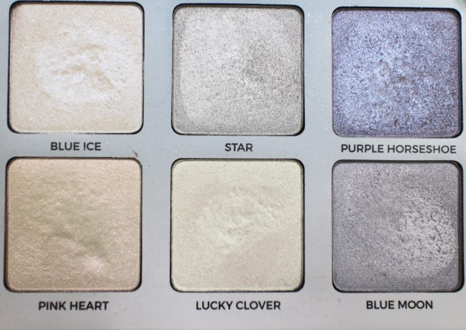 Anastasia Moonchild Glow Kit Review, Swatches focus