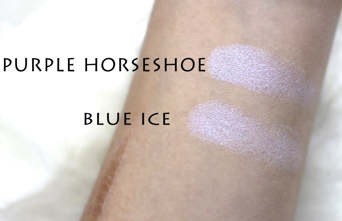 Anastasia Moonchild Glow Kit Review, Swatches purple horseshoe blue ice