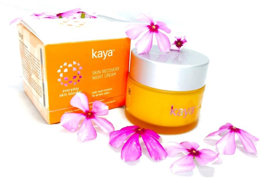 Kaya Skin Recovery Night Cream Review