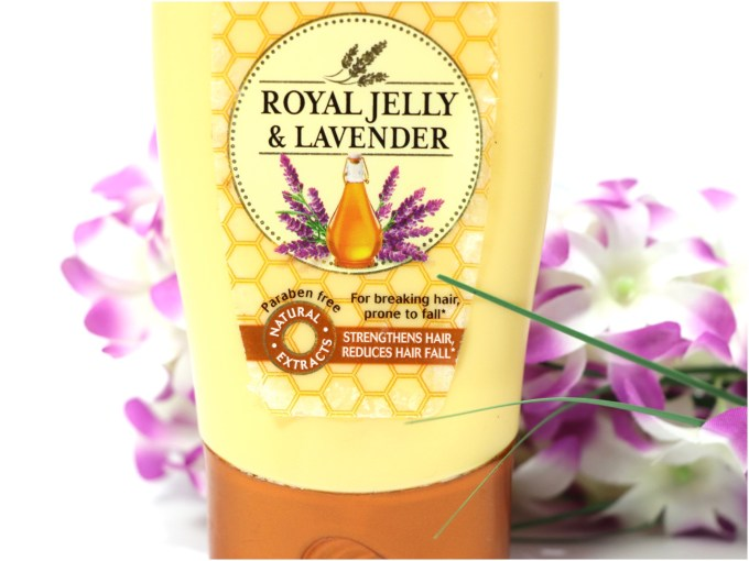 Garnier Ultra Blends Royal Jelly & Lavender Conditioner Review MBF Blog