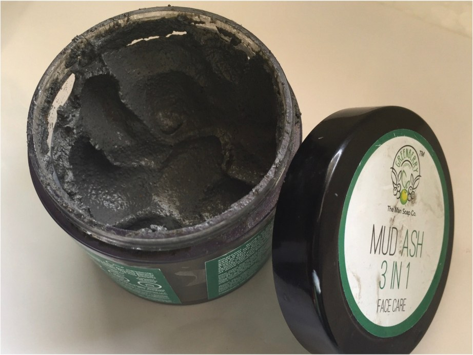 Greenberry Organics Mud Ash 3 In 1 Cleanser, Scrub & Mask Review MBF