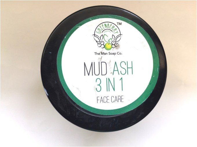 Greenberry Organics Mud Ash 3 In 1 Cleanser, Scrub & Mask Review top